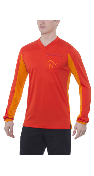 Norrøna fjørå equaliser Long Sleeve Men Arednalin